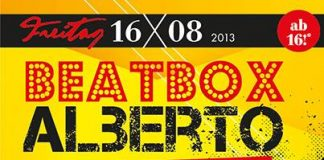 Beatbox Alberto im Joker in Lingen