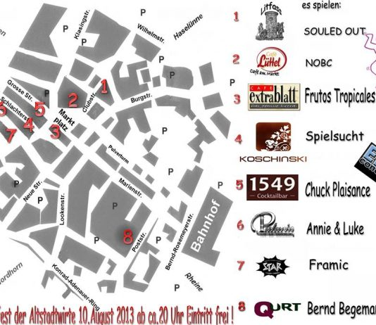 Musikfest der Altstadtwirte in Lingen