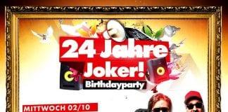24 Jahre Joker - Die Birthdayparty!