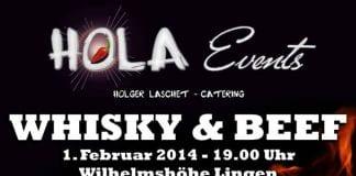Whisky & Beef auf der Wilhelmshöhe