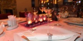 Valentinstags-Menü im Palacio