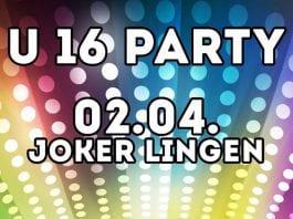 U16-Party im Joker