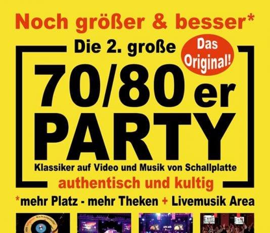 70/80er Party auf der Wilhelmshöhe
