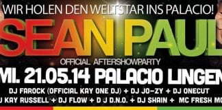 Sean Paul im Palacio in Lingen