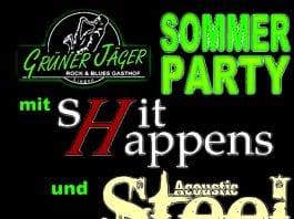 Sommerparty im Grünen Jäger