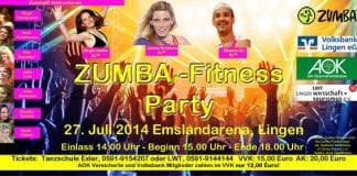 Zumba Party in der EmslandArena