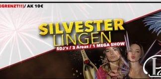 Silvester 2015/16 im Palacio in Lingen