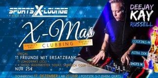 X-Mas Clubbing in der Sports X-Lounge