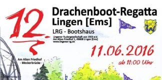 Drachenboot-Regatta in Lingen