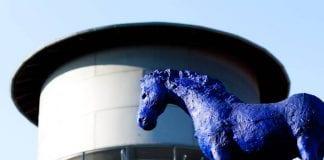 Kunsthalle / Wasserturm / Blaues Pferd in Lingen © LNGN.de