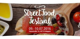 Street Food Festival in Meppen