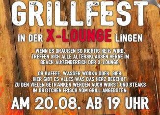 1. Großes Grillfest der Sports X-Lounge