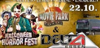 Halloween Horrorfest & DiscoParty im DELTA