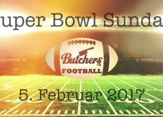 Super Bowl Sunday im Butchers