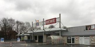 ALDI und REWE an der Rheiner Str. in Lingen