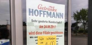 Getränke Hoffmann an der Rheiner Str. in Lingen geschlossen
