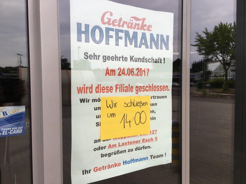 Getränke Hoffmann schließt zwei Flächen in Lingen - LNGN.de
