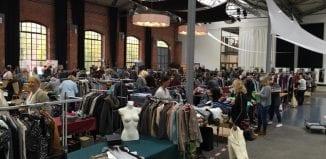 Modeflohmarkt in der Halle IV