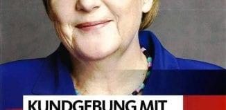 Bundeskanzlerin Angela Merkel in Lingen