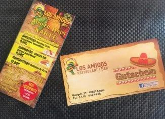 Restaurant Los Amigos startet Lieferdienst
