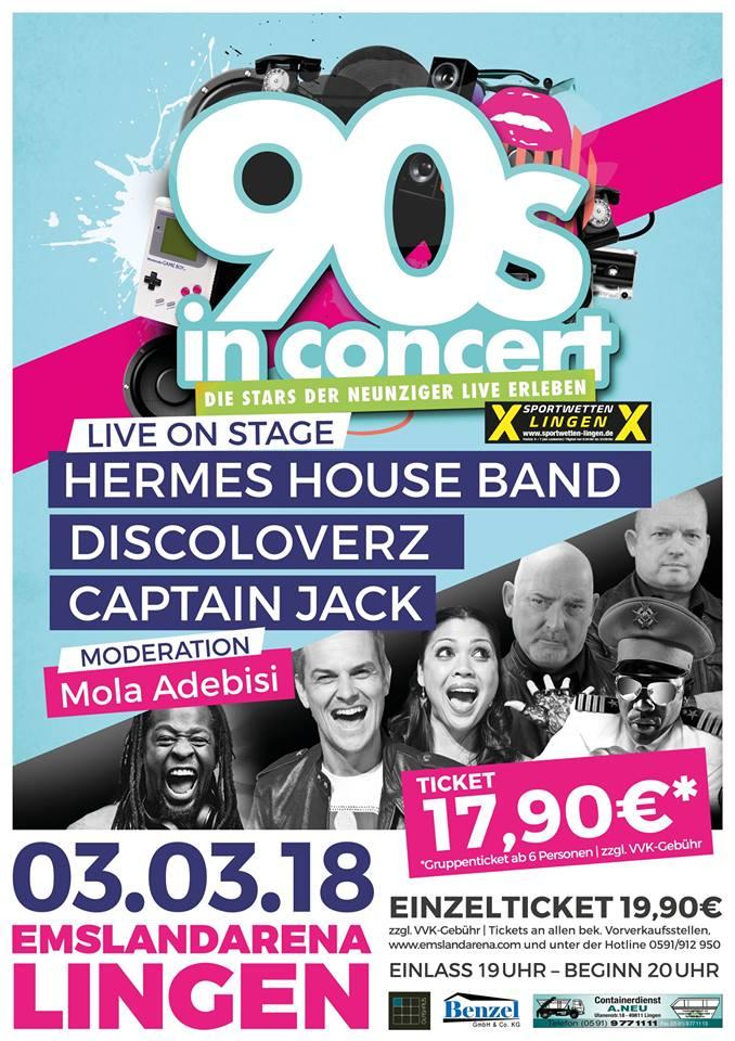 90s in Concert III in der EmslandArena