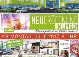 Möbel Berning Lingen - Offizielle Teilneueröffnung