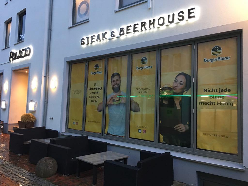 Burger Biene und Grüner Max in Lingen